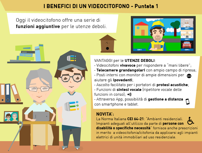 I BENEFICI DI UN VIDEOCITOFONO - Puntata 1