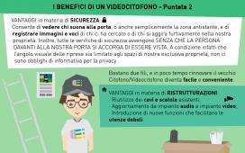 I BENEFICI DI UN VIDEOCITOFONO - Puntata 2