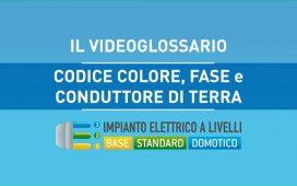 CODICE COLORE, FASE E CONDUTTORE DI TERRA - VIDEOGLOSSARIO IMPIANTI A LIVELLI